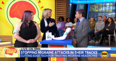 Good morning America live about stopping migraine attacks in their tracks