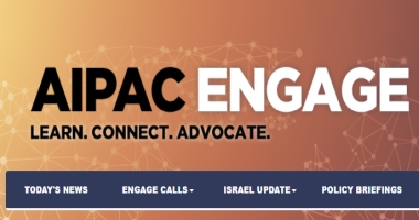 AIPAC engage learn.connect.advocate.